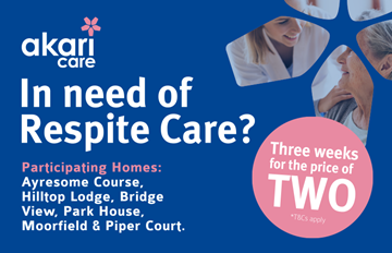 *NEW* Respite Offer - Akari Care